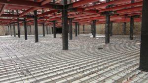 میلگردهای آتش پاد و حرارتی در سقفهای عرشه فولادی