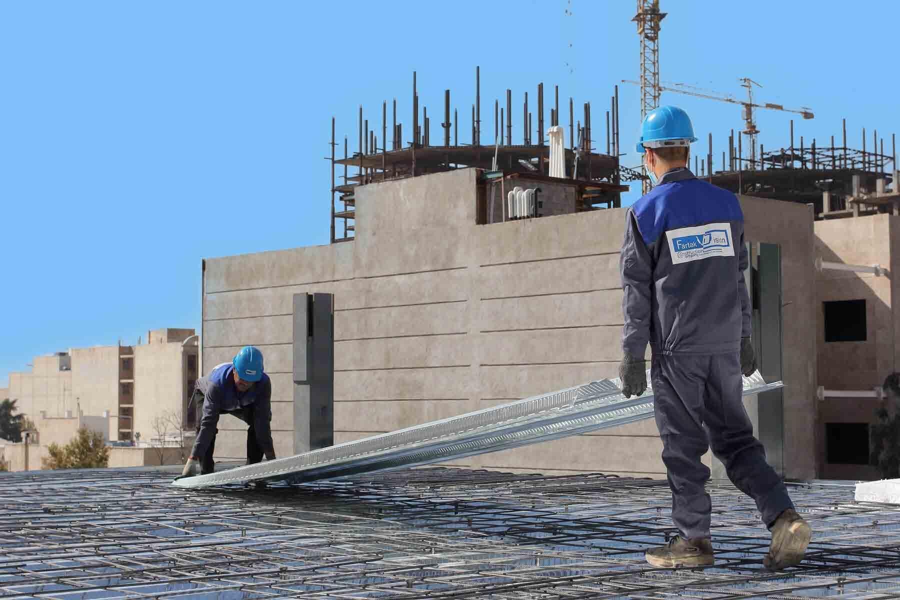 هزینه اجرای سقف عرشه فولادی