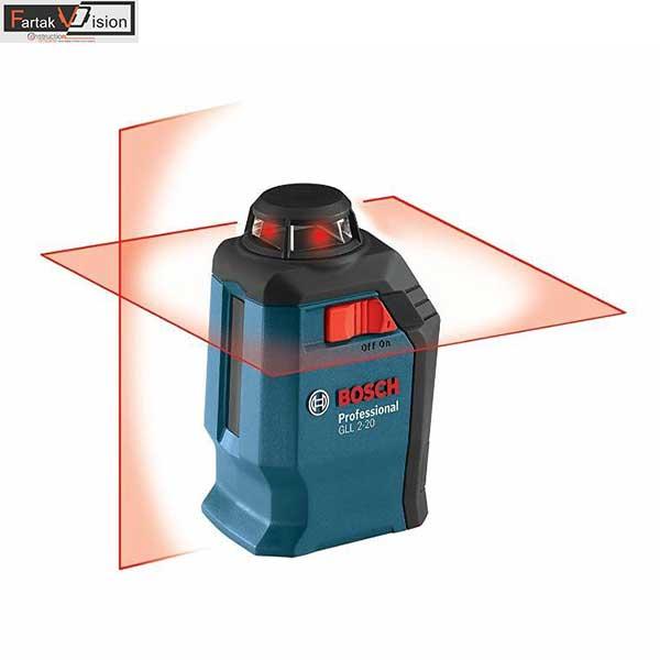 تراز لیزری بوش مدل GLL 2-20