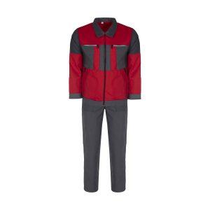 لباس کار کد S1 رنگ قرمز