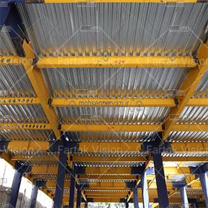 سقف عرشه فولادی چیست