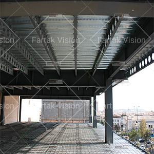سقف عرشه فولادی در تهران